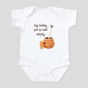 honey pot is empty Infant Bodysuit