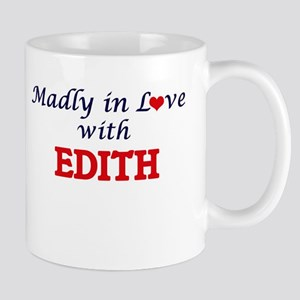 Madly in Love with Edith Mugs