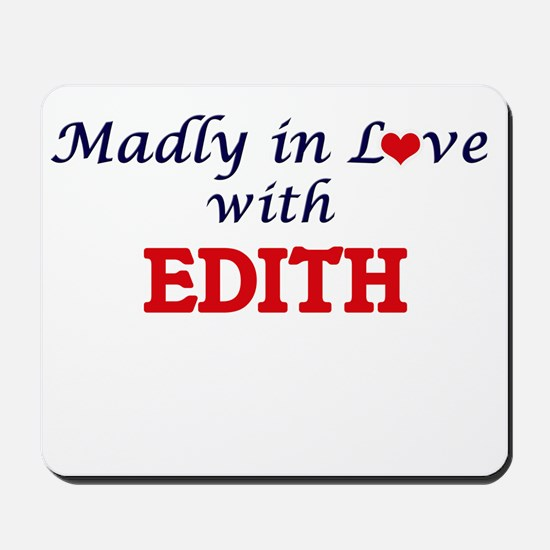 Madly in Love with Edith Mousepad