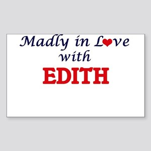 Madly in Love with Edith Sticker