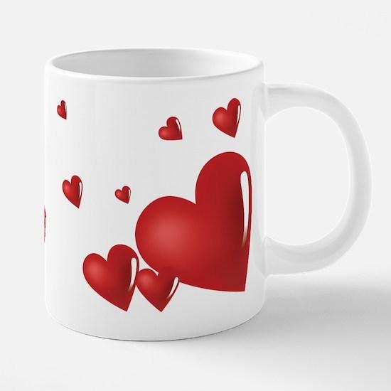 hearts mugs - Valentines Day Mugs