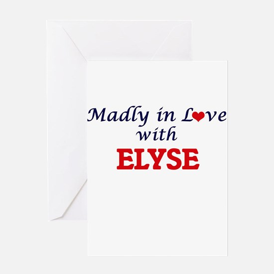 Madly in Love with Elyse Greeting Cards