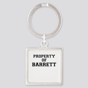 Property of BARRETT Keychains