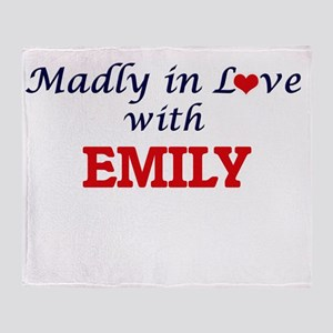 Madly in Love with Emily Throw Blanket