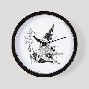 Wizard 5 Wall Clock