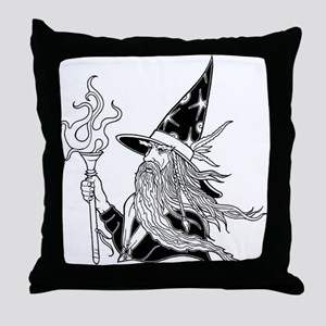 Wizard 5 Throw Pillow