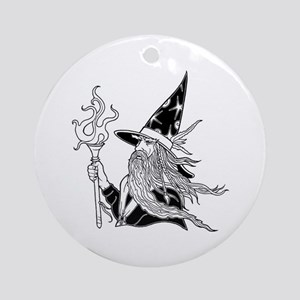 Wizard 5 Ornament (Round)