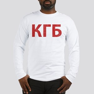 Vintage KGB Long Sleeve T-Shirt