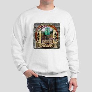 Porta John hunting blinds mak Sweatshirt