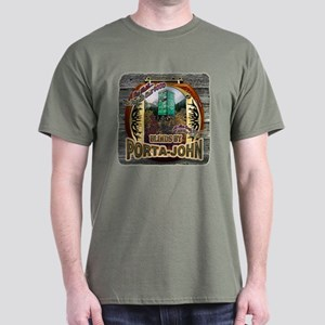 Porta John hunting blinds mak Dark T-Shirt