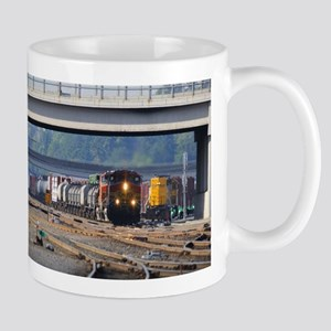 Bnsf Through Vancouver Mugs