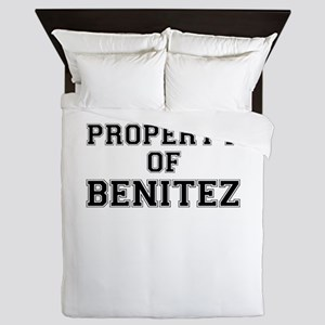 Property of BENITEZ Queen Duvet