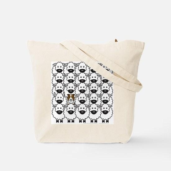 Red BC and Sheep Tote Bag