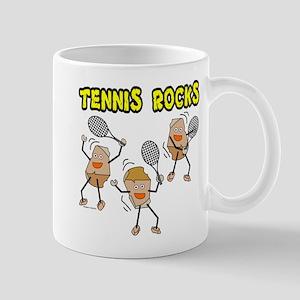 Tennis Rocks Mugs