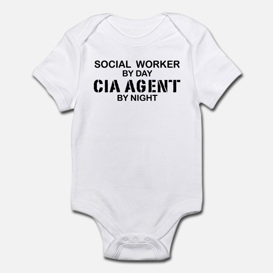 Social Workder CIA Agent Infant Bodysuit