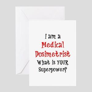 medical dosimetrist Greeting Card