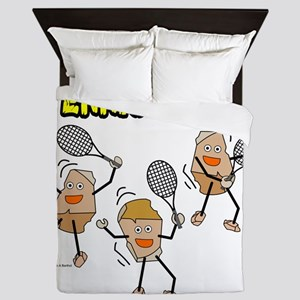 Tennis Rocks Queen Duvet