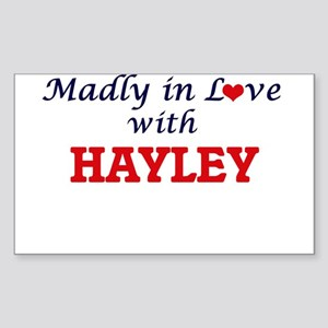 Madly in Love with Hayley Sticker