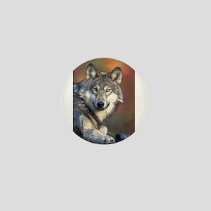 Wolf 024 Mini Button