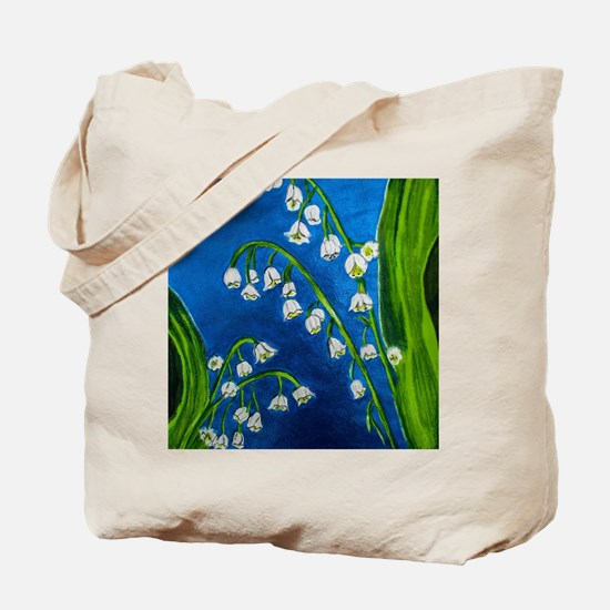Cute Lily of the valley Tote Bag