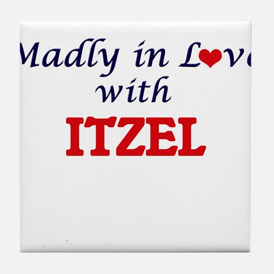 Madly in Love with Itzel Tile Coaster