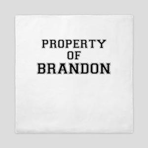 Property of BRANDON Queen Duvet