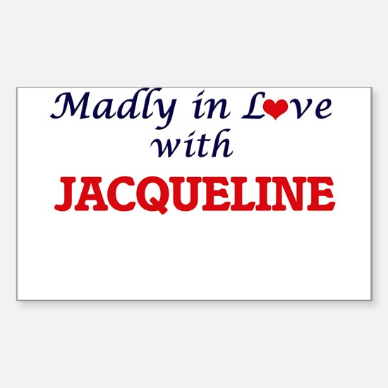 Madly in Love with Jacqueline Decal