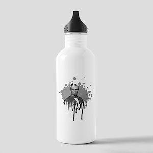 Abe Lincoln Splatter Stainless Water Bottle 1.0L