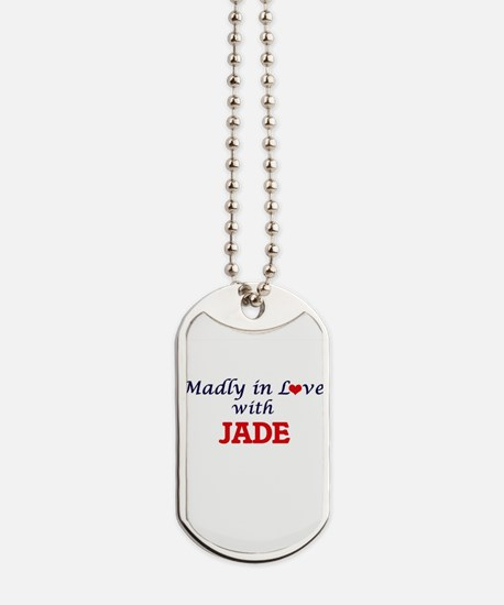 Madly in Love with Jade Dog Tags