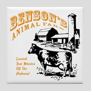 Benson's Animal Farm Tile Coaster