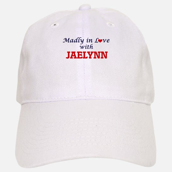 Madly in Love with Jaelynn Baseball Baseball Cap