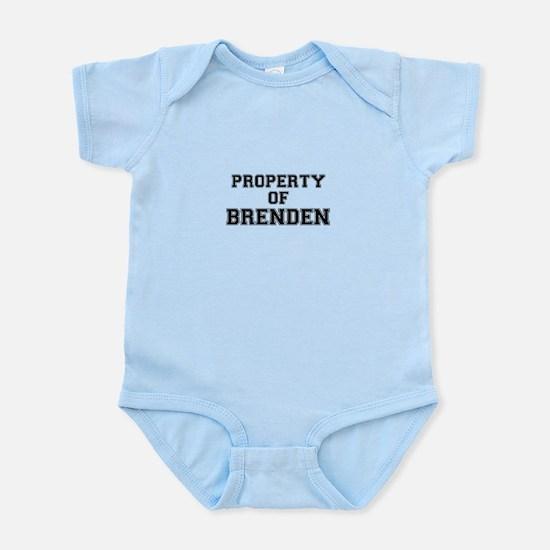 Property of BRENDEN Body Suit