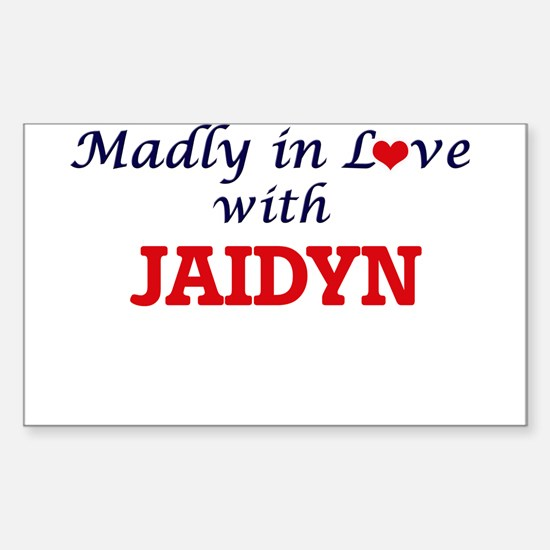 Madly in Love with Jaidyn Decal
