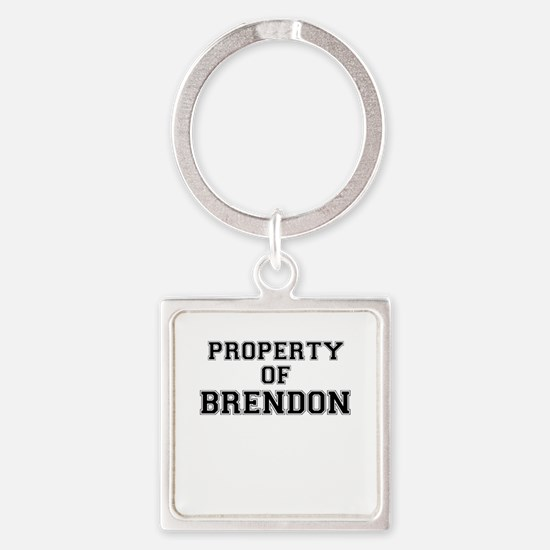 Property of BRENDON Keychains