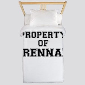Property of BRENNAN Twin Duvet