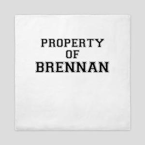 Property of BRENNAN Queen Duvet