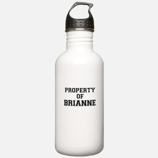 Property of BRIANNE Water Bottle