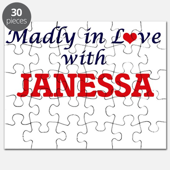 Madly in Love with Janessa Puzzle
