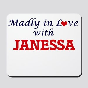 Madly in Love with Janessa Mousepad