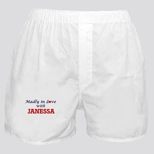 Madly in Love with Janessa Boxer Shorts