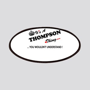 THOMPSON thing, you wouldn't understand Patch