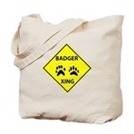 Badger Crossing Tote Bag