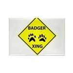 Badger Crossing Rectangle Magnet (10 pack)