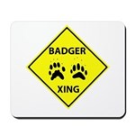 Badger Crossing Mousepad