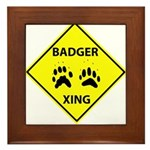 Badger Crossing Framed Tile