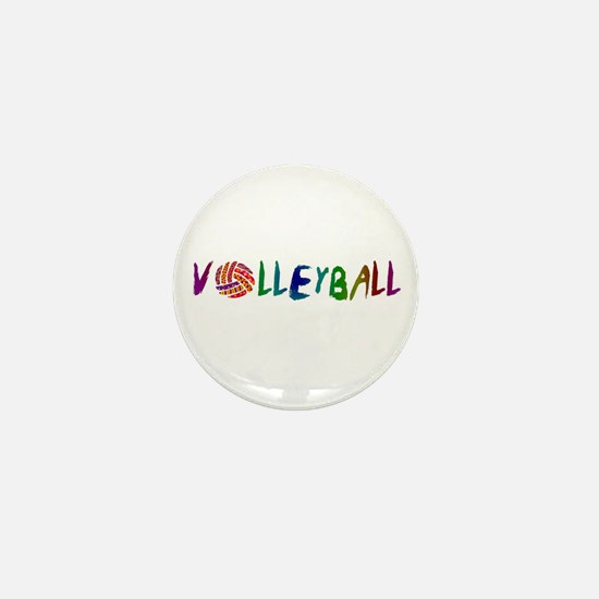 Volleyball 2 Mini Button
