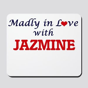 Madly in Love with Jazmine Mousepad