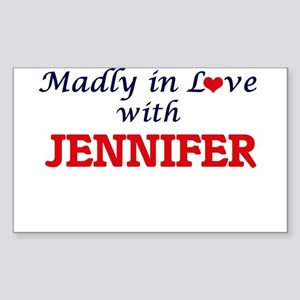 Madly in Love with Jennifer Sticker