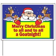 GoatNight Yard Sign