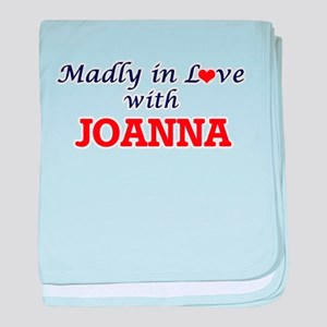 Madly in Love with Joanna baby blanket